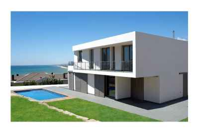 Modern house with panoramic sea views in Arenys de Mar